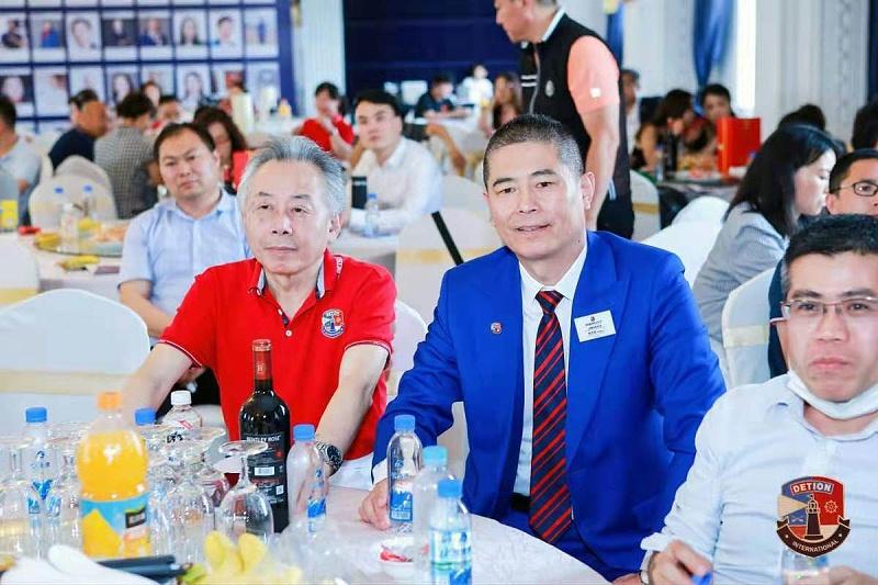 1、上海德申国际俱乐部三周年庆典