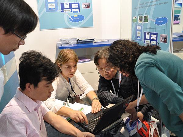 泓宝-泓宝科技和以色列水环境公司合作洽谈照片