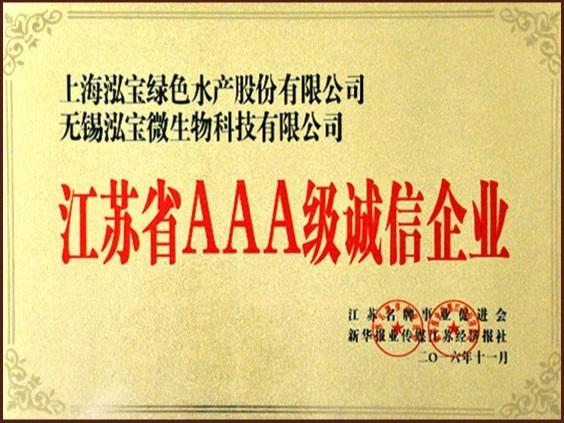 泓宝-江苏省AAA级诚信企业